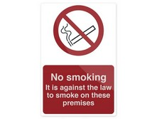 Signs: No Smoking & Prohibition